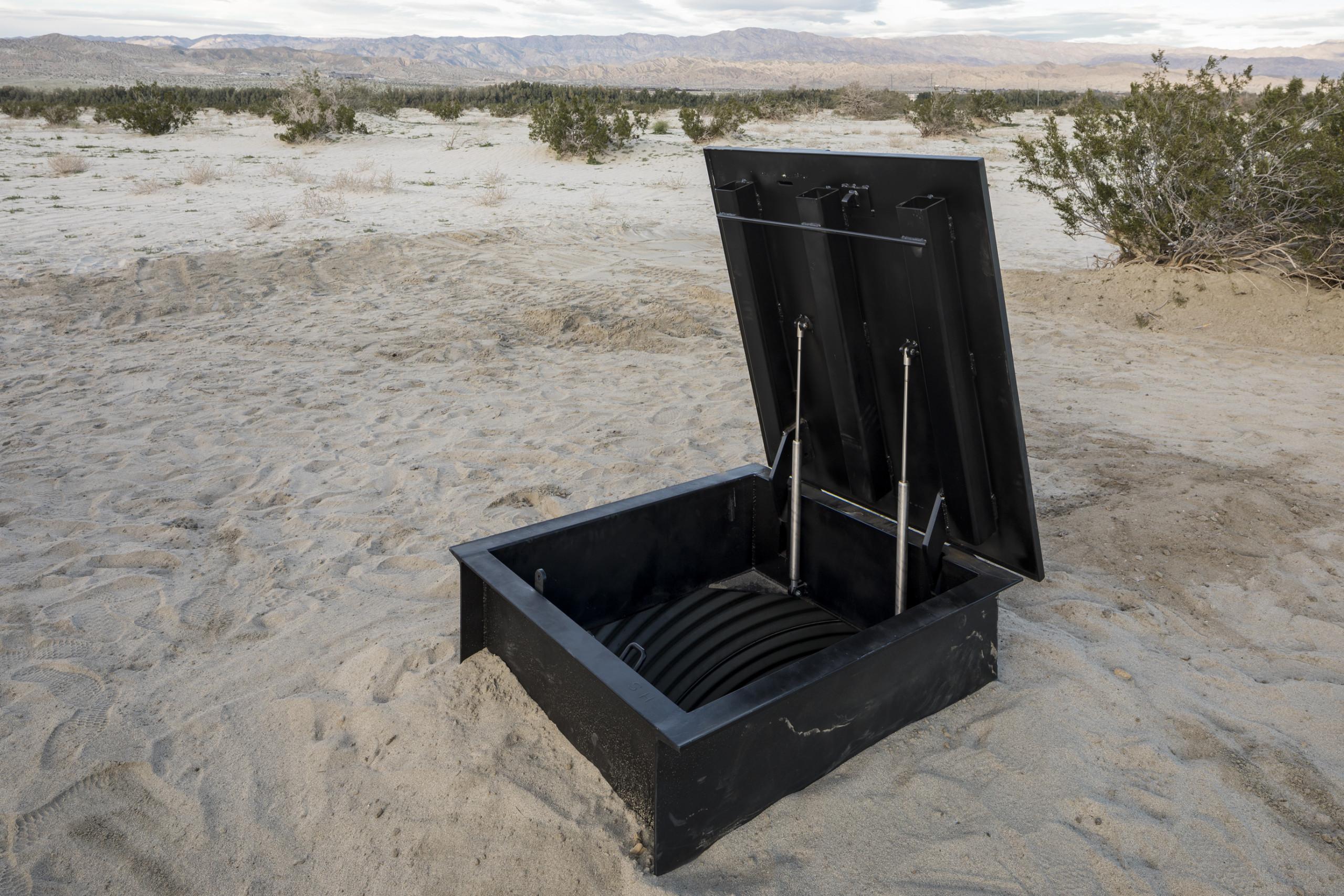 "Will Boone, ""Monument"", Desert X 2017"