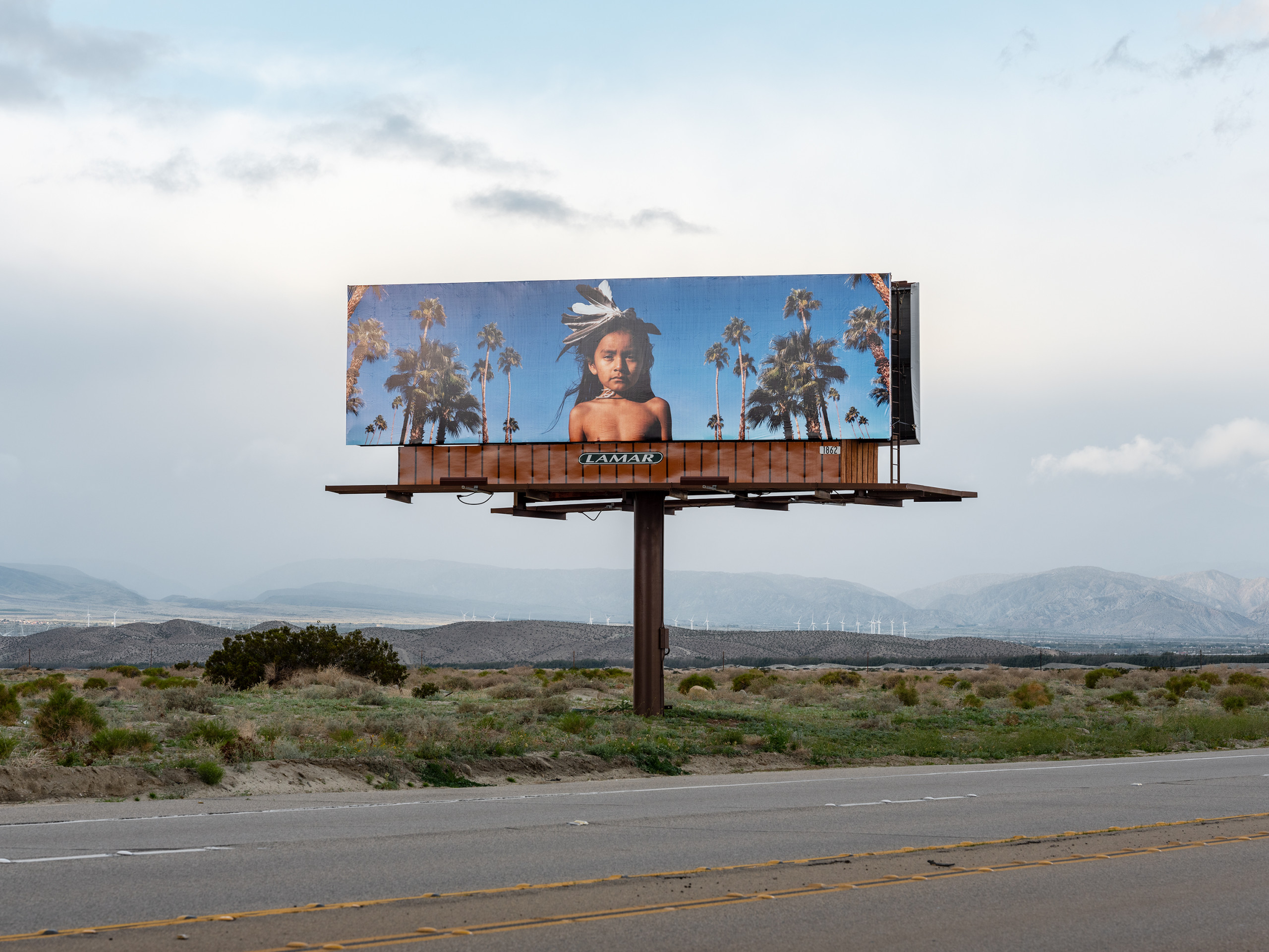 "Cara Romero, ""Jackrabbit, Cottontail & Spirits of the Desert"", Desert X 2019"