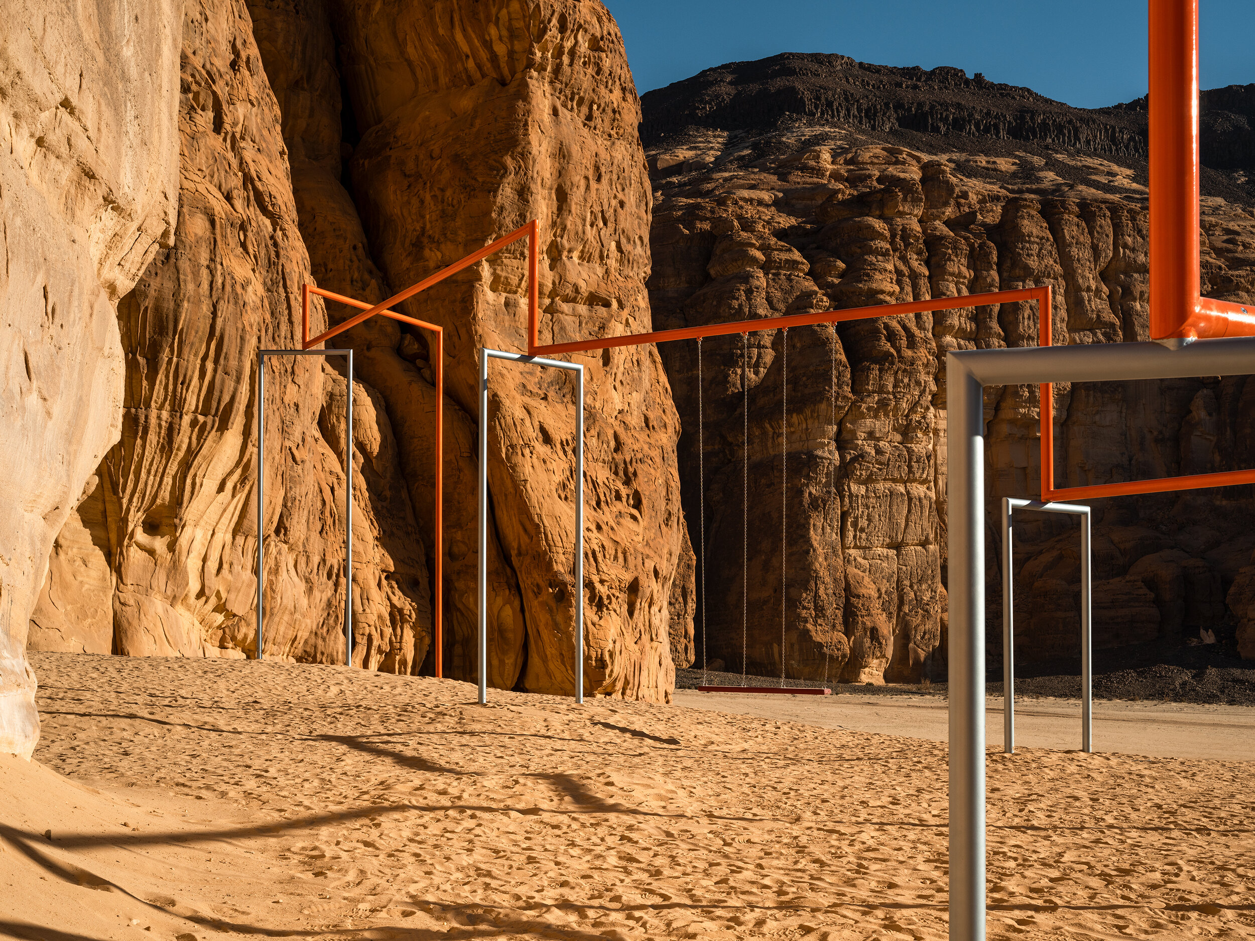"Superflex, ""One Two Three Swing!"", Desert X AlUla"